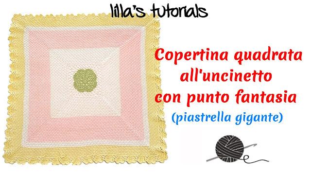 Punto Crochet All Uncinetto.Lo Spazio Di Lilla Copertine Ai Ferri E All Uncinetto Per Neonato