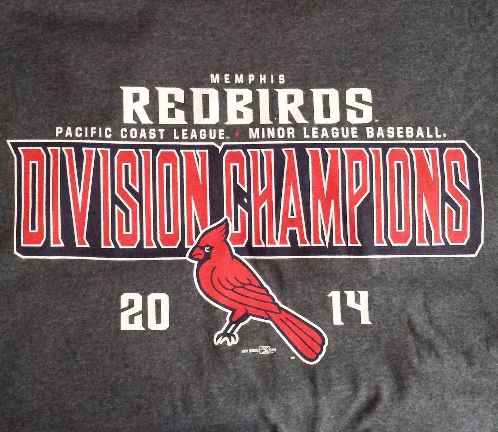 Memphis Redbirds 2014 Pacific Coast League Division Champions