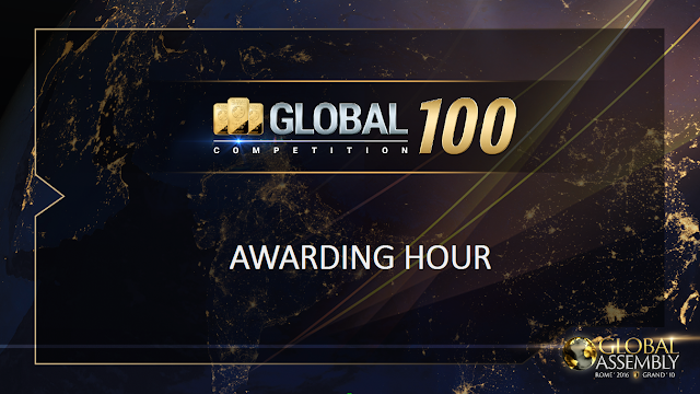 Global 100! Your chance to win gold bars!