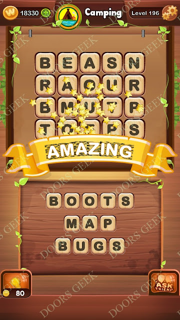 Word Bright Level 196 Answers, Cheats, Solutions, Walkthrough for android, iphone, ipad and ipod