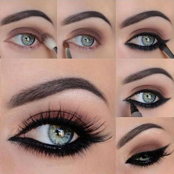 Young Apply Ladies Smokey Eye Dark Shading Cosmetics Nazje Blog