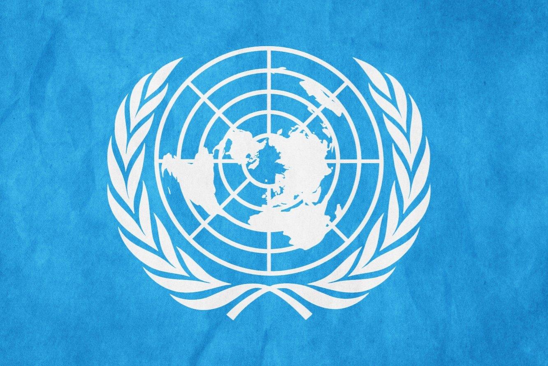 Logo ainda utilizado pela ONU