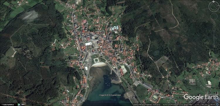 que es cee municipio en espana galicia a coruna - google earth
