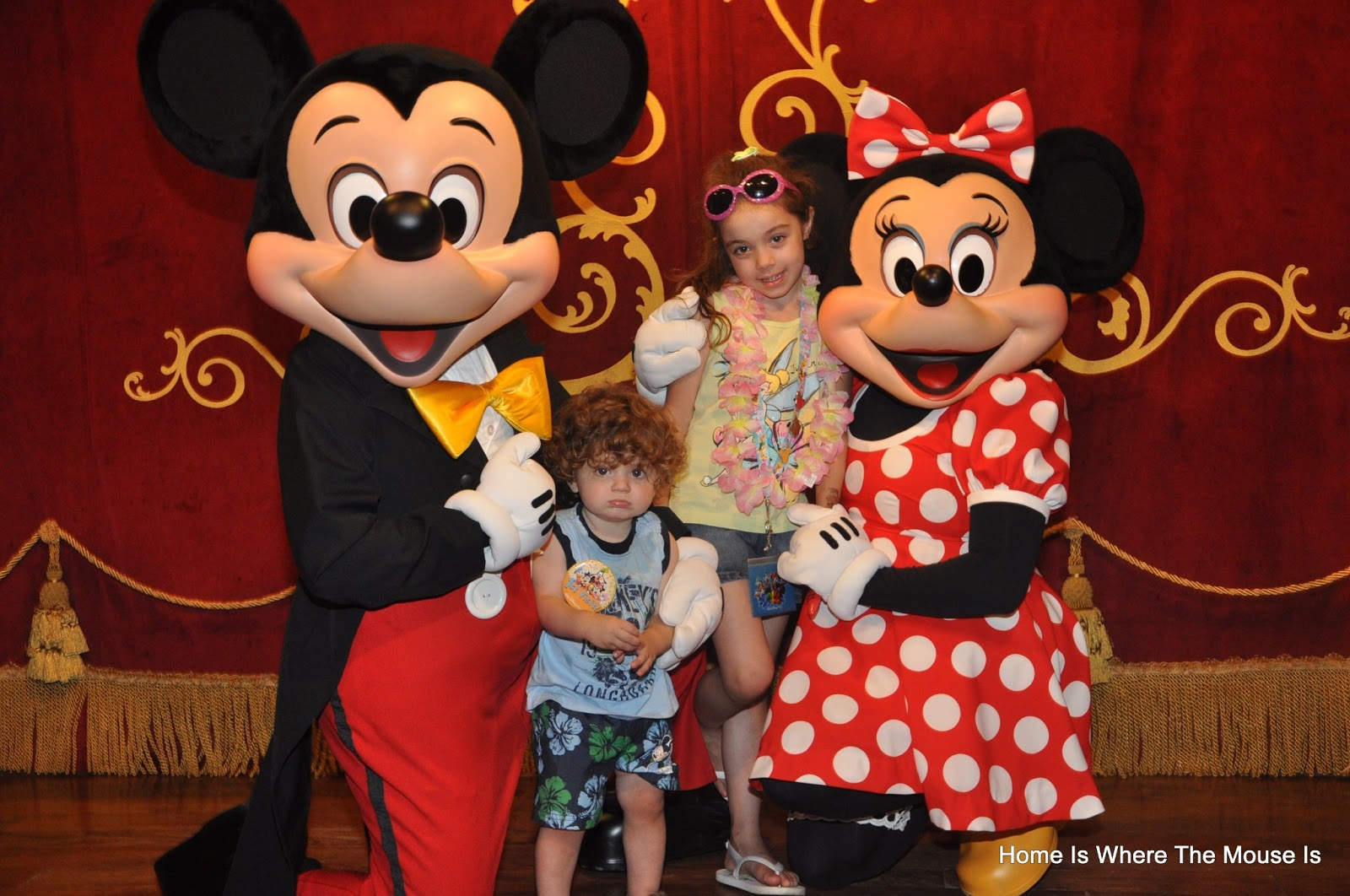 The best character meet and greets at walt disney world our kids meeting mickey and minnie at the town square theater magic kingdom 2012 m4hsunfo