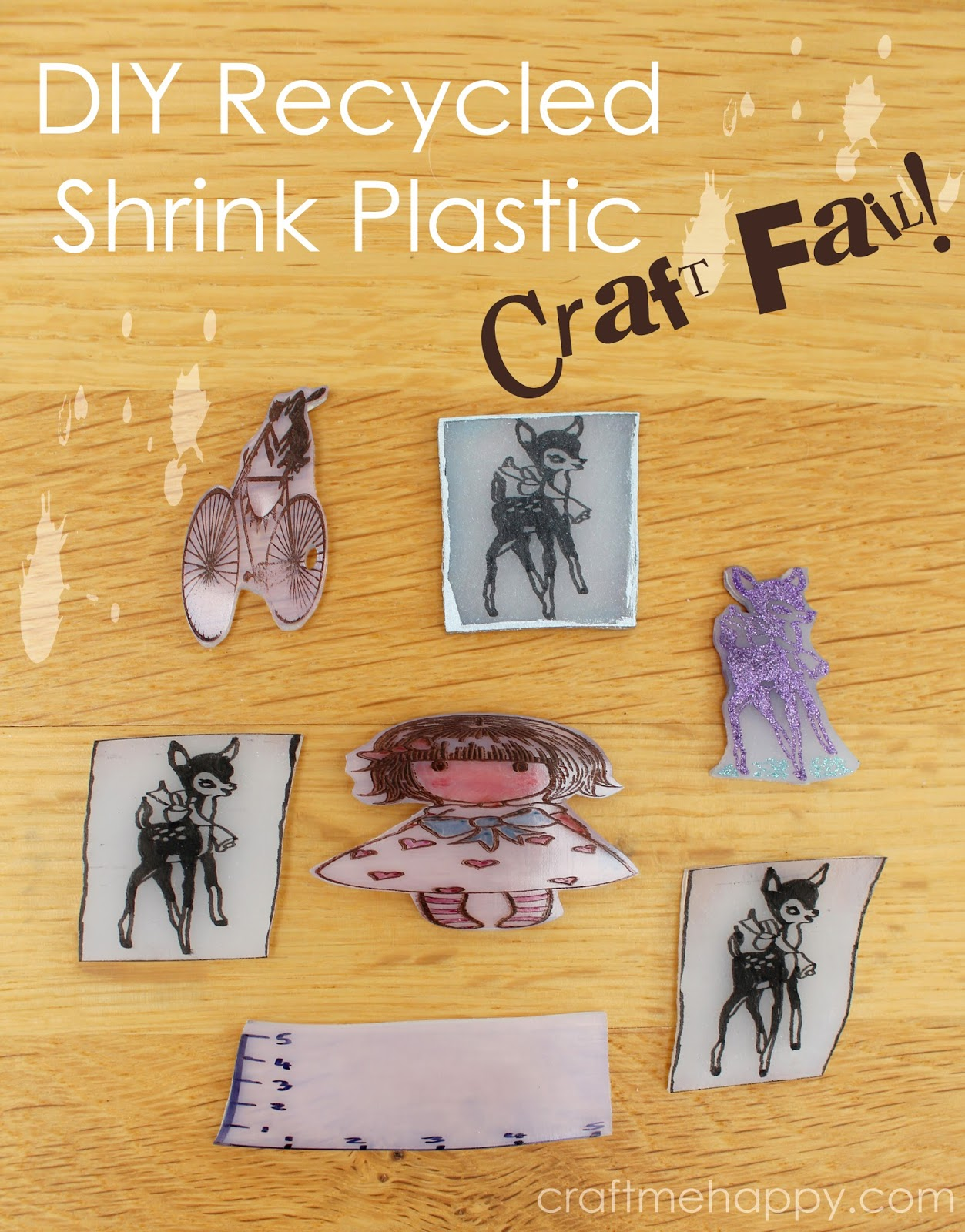 Craft Fail Diy Shrink Plastic With 6 Packaging And How To Rescue