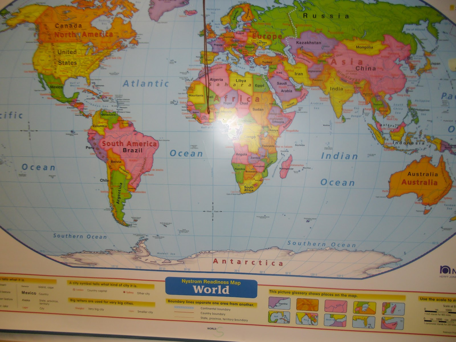 Patties Classroom Continents And Oceans Of The World