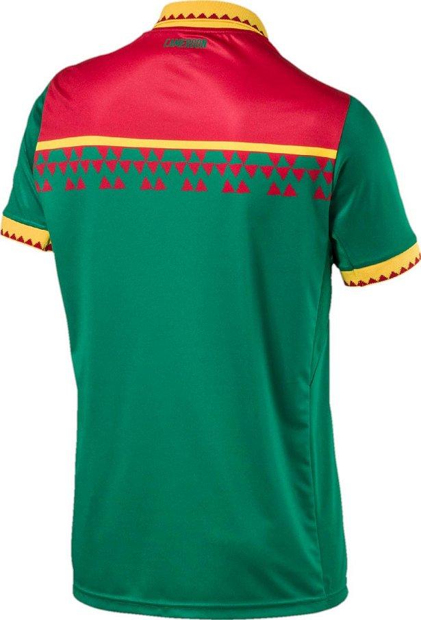 9e39d8f3df Puma divulga nova camisa titular de Camarões - Show de Camisas