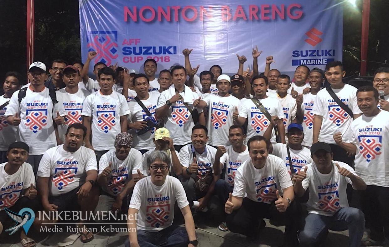 AFF Suzuki Cup 2018, Suzuki Marine Gelar Nobar Bersama Pemilik Kapal dan ABK