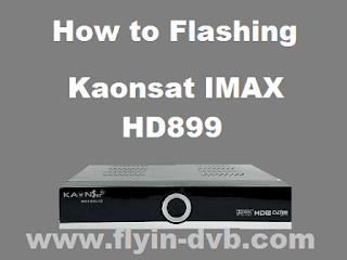 Cara Flash Receiver Kaonsat IMAX 899 HD Yang Mati Suri