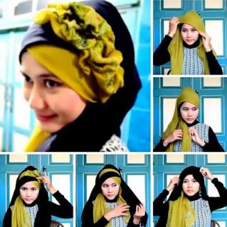 Inilah Tutorial Jilbab Untuk Fashion Show