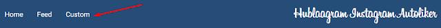 Cara auto like Instagram dengan hublaagram menggunakan custom image