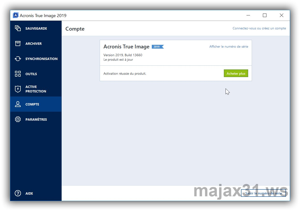 Acronis True Image 2019 activation code Archives