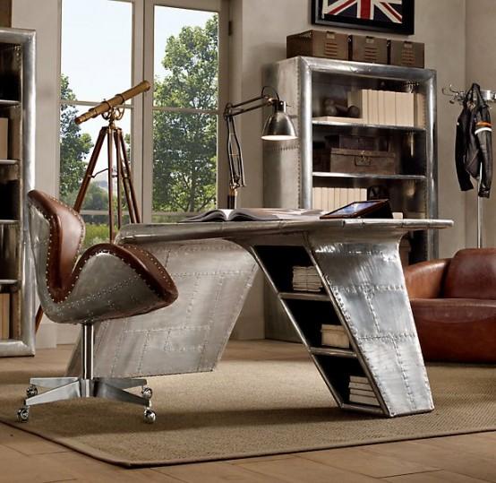 Airplane Wing Computer Desk Home Design Interior