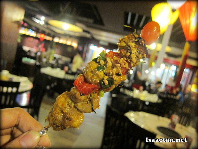 "I like anything ""satay""-like and skewered"