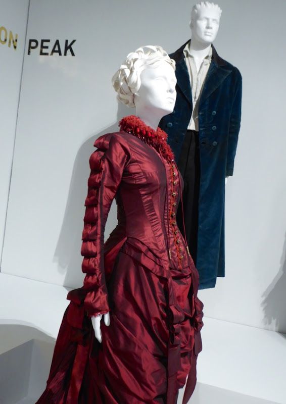 Crimson Peak Lucille Sharpe costume detail