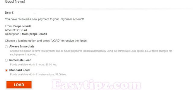 I received my payments via Payoneer