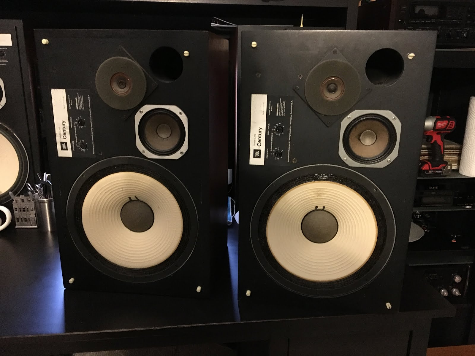 Revolver: 56  JBL L100 Century 1970, Love em or Hate em, they ARE