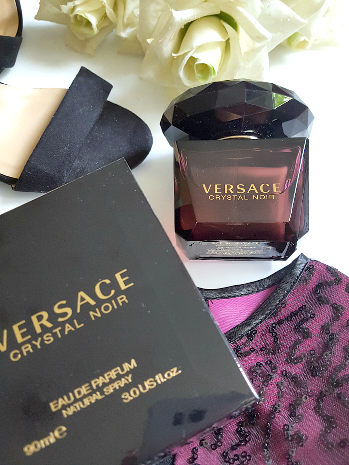 VERSACE Crystal Noir  perfume, fragrance, eau de perfume, eau de parfum, new