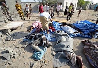 Saudi-led airstrikes
