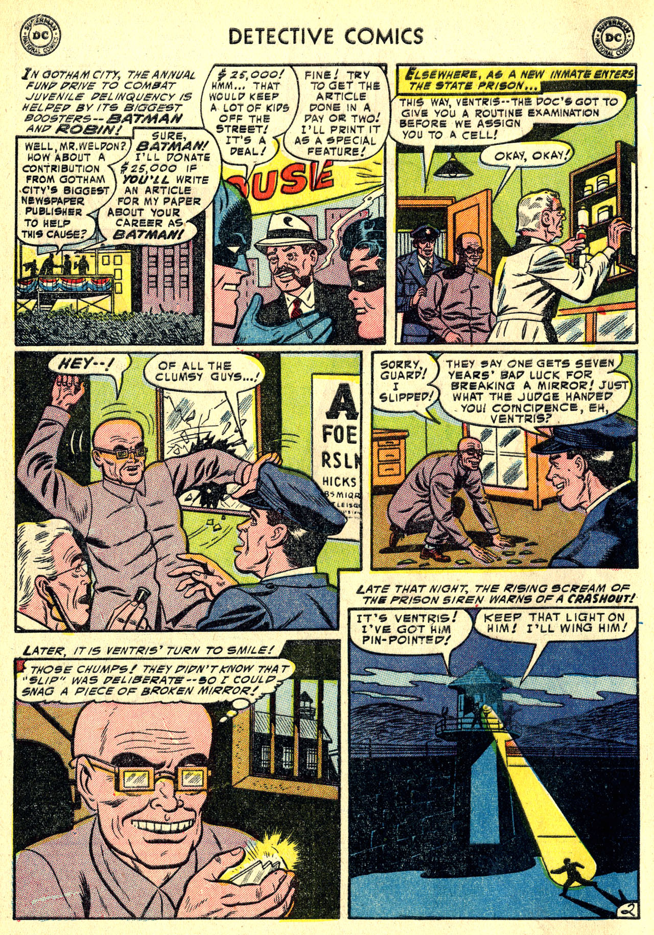 Read online Detective Comics (1937) comic -  Issue #213 - 4