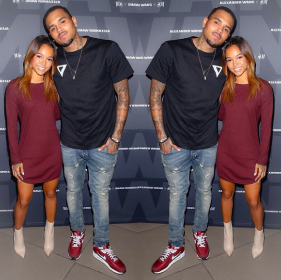 Video , After his ex-girlfriend has reportedly got a restraining order,Chris Brown allude to the reports.