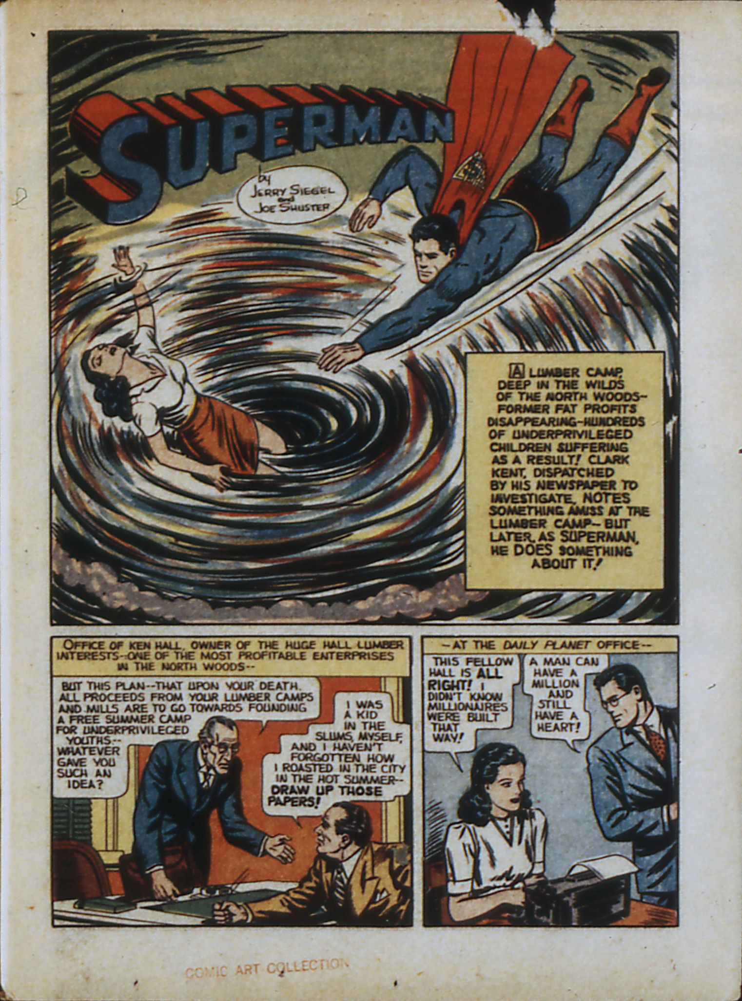 Read online Action Comics (1938) comic -  Issue #33 - 4