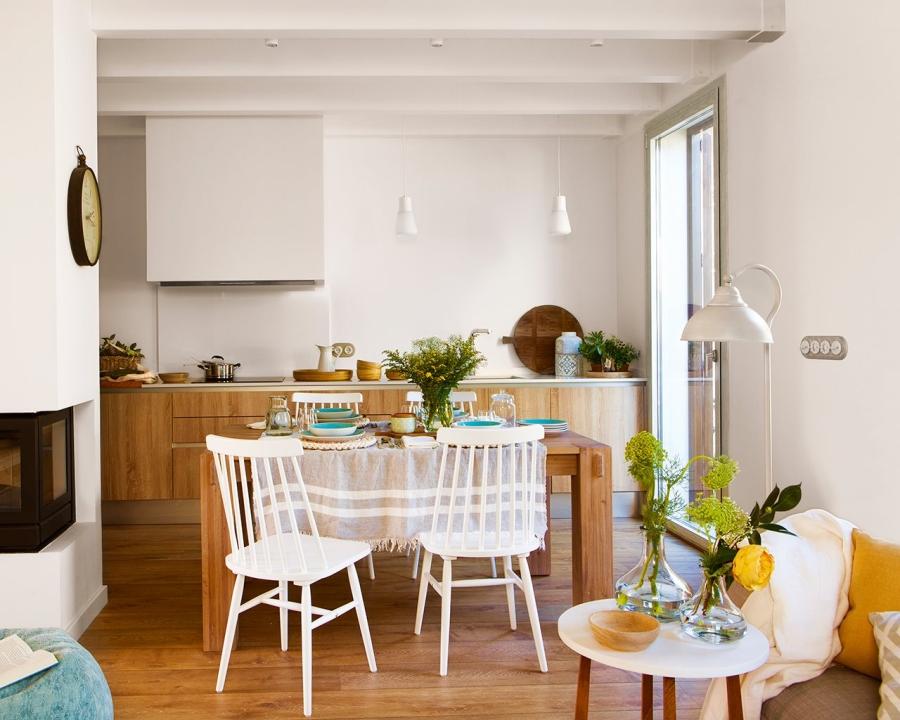 wystrój wnętrz, wnętrza, urządzanie mieszkania, dom, home decor, dekoracje, aranżacje, salon, pokój dzienny, living room, kuchnia, kitchen, otwarta przestrzeń