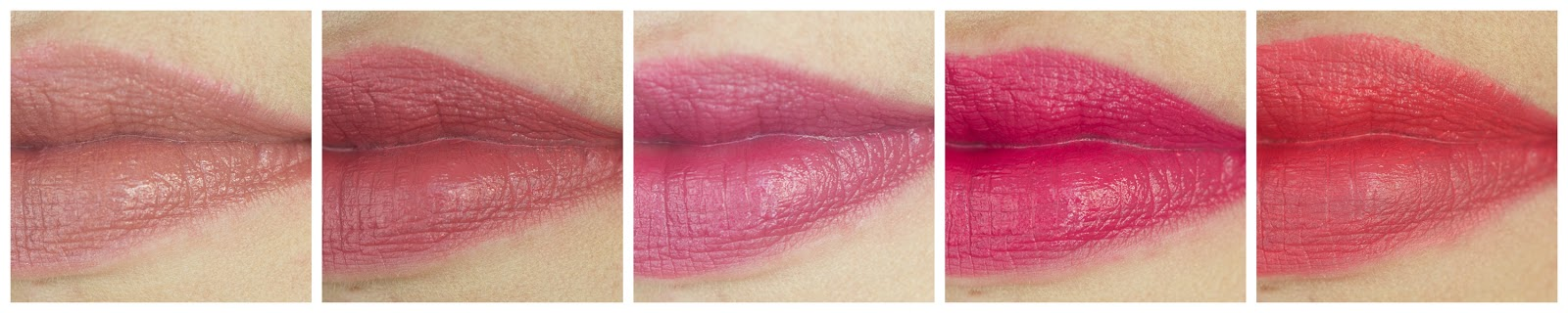 Lippenstiftzugänge MAC Giorgio Armani Estee Lauder