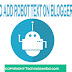 How to add robot txt on blogger blog