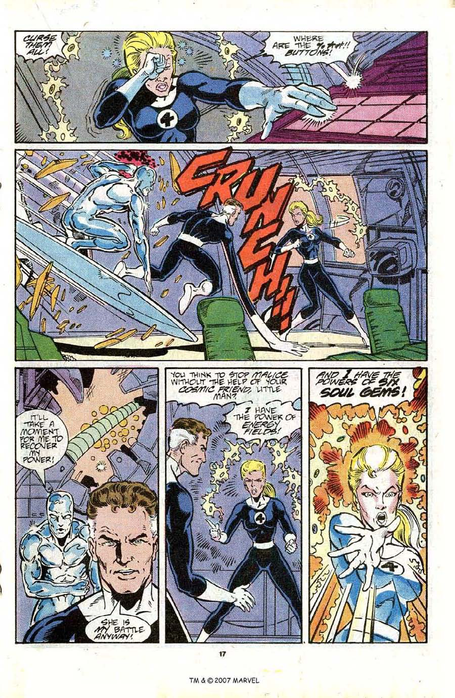 Read online Silver Surfer (1987) comic -  Issue #16 - 19