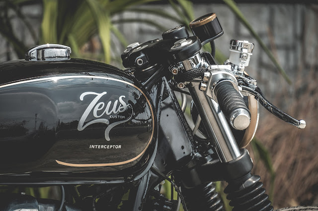 Royal Enfield Interceptor By Zeus Custom Hell Kustom