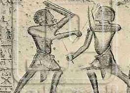 المصارعة عند القدماء المصريين