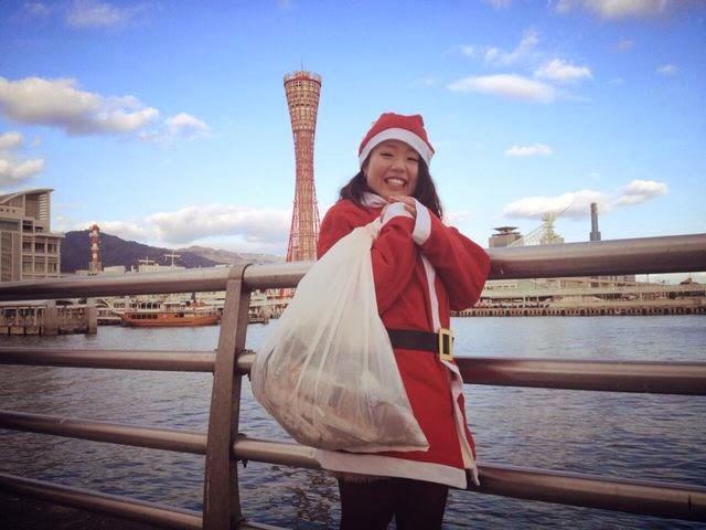 神戸サンタ清掃 サンタゴミ拾い!
