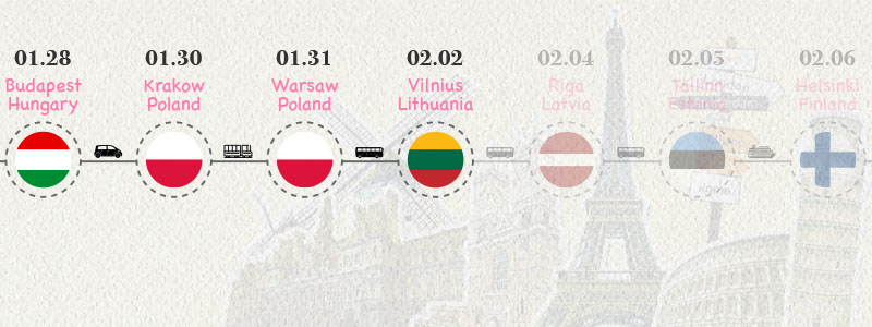[立陶宛.維爾紐斯] 老城區漫步:對岸共和國、格迪米納斯塔、維爾紐斯主教座堂