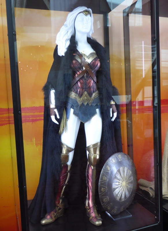 Gal Gadot Wonder Woman film costume