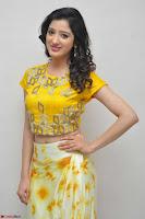 Richa Panai in Yellow Slim Fit Crop top ~ CelebxNext 021.JPG