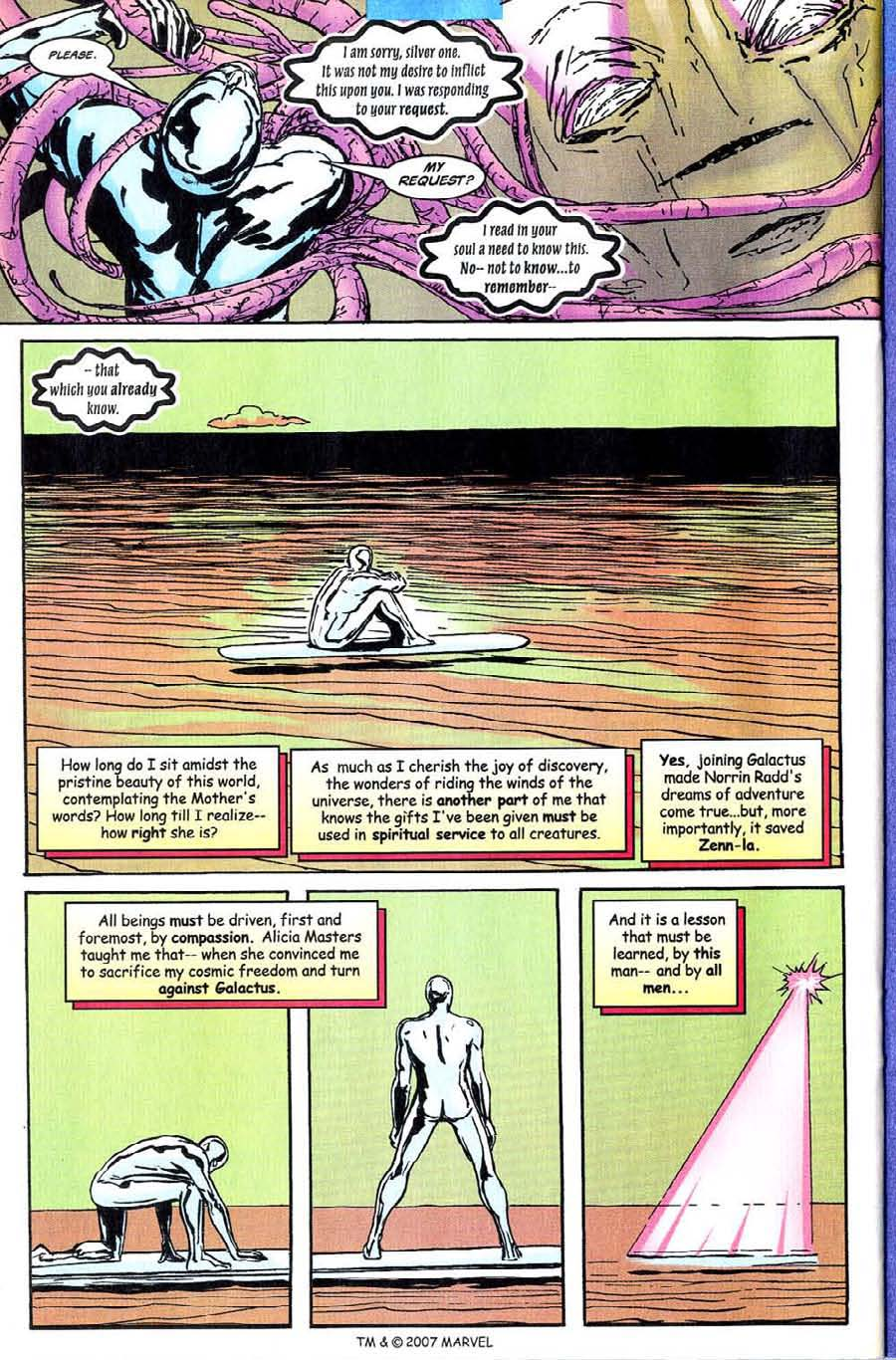 Read online Silver Surfer (1987) comic -  Issue #142 - 26