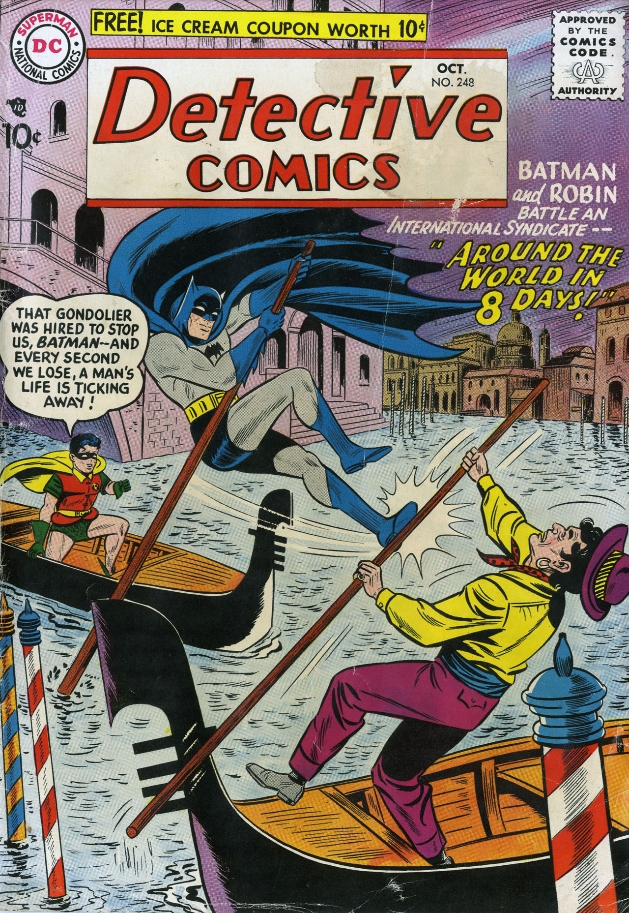 Read online Detective Comics (1937) comic -  Issue #248 - 1