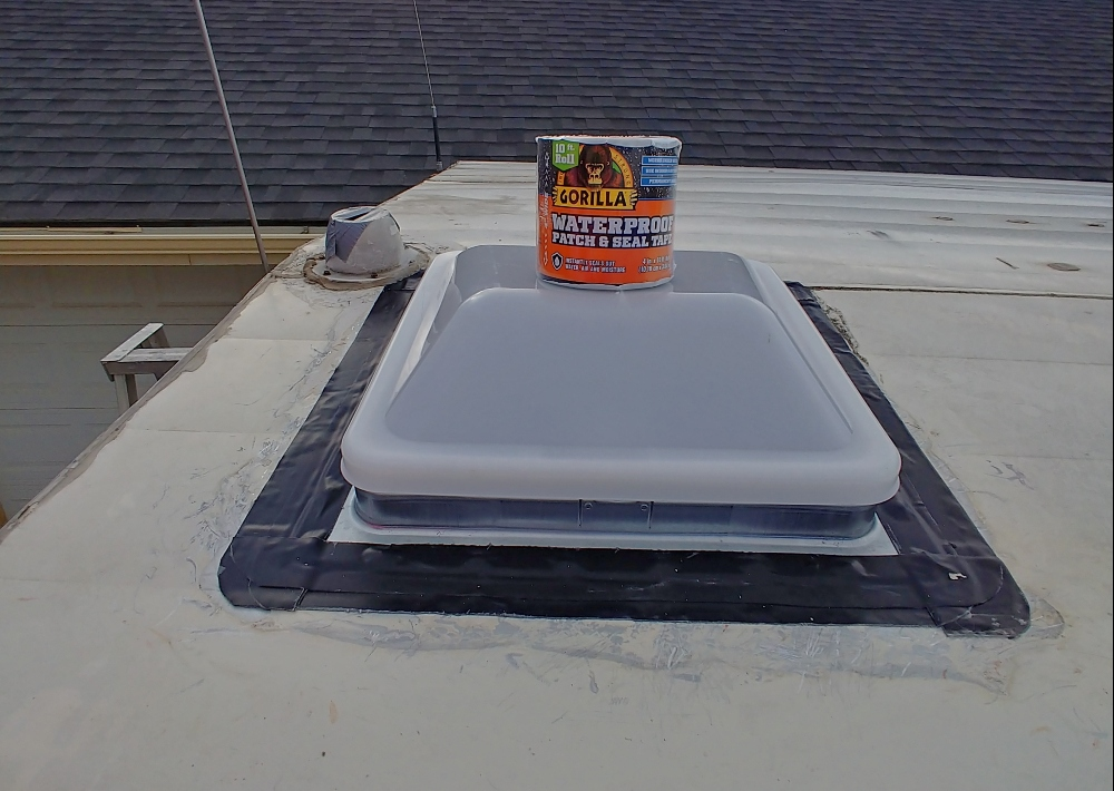 how to replace an RV roof vent