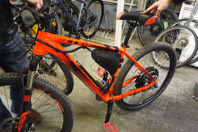 Convet your bicycle into a eBike