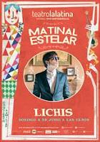 Concierto de Lichis en el Teatro de la Latina