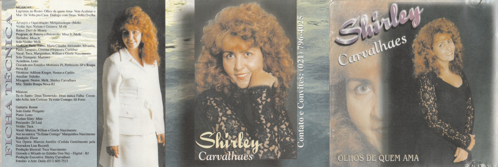 cd shirley carvalhaes 1998