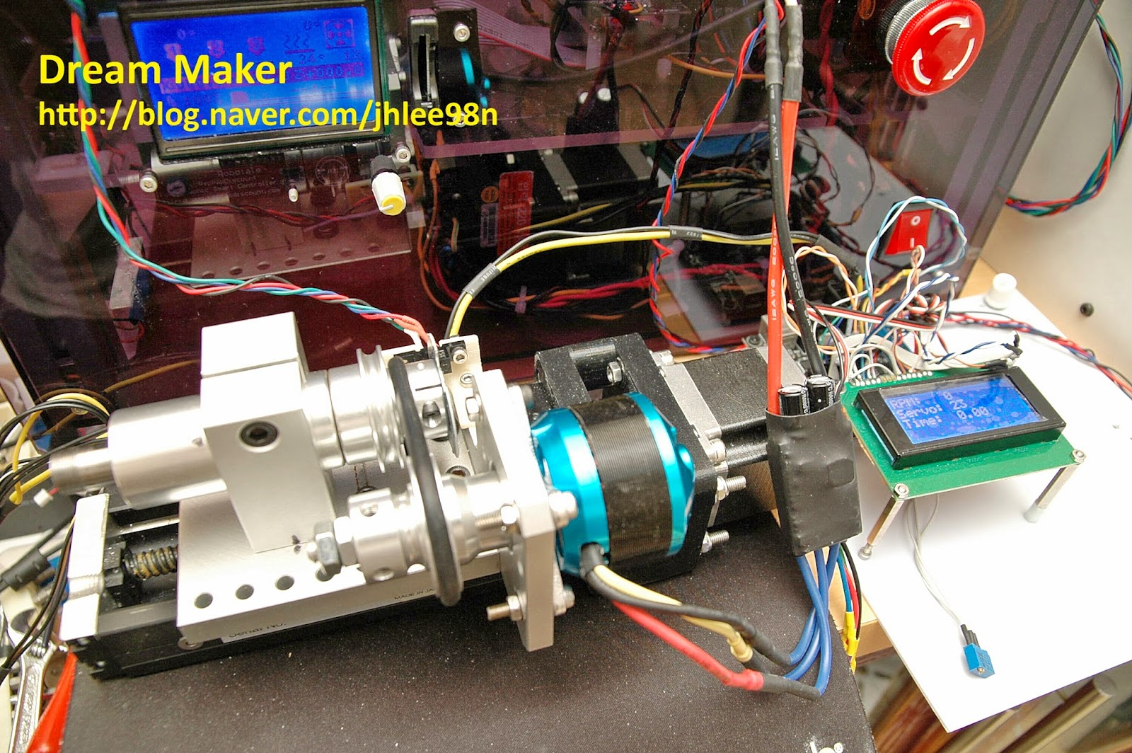 BLCD Motor control & RPM measure with Arduino