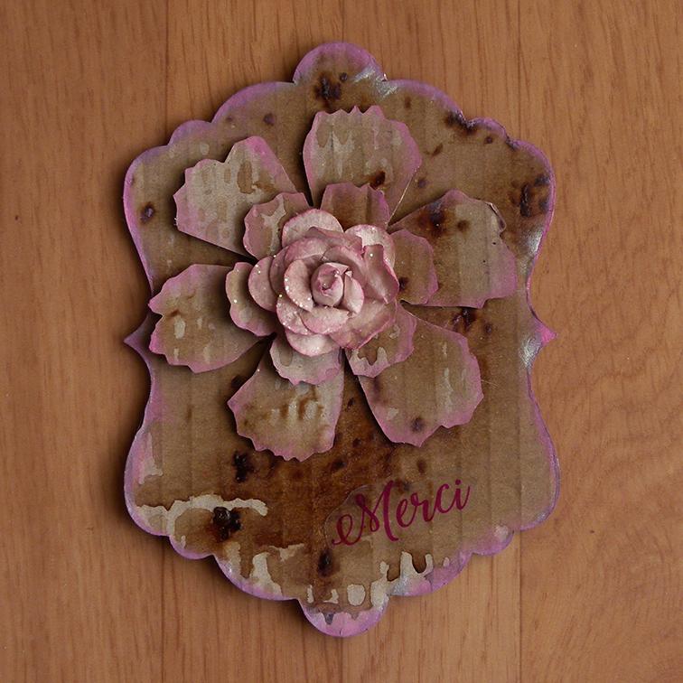 Bea recreation fleur en carton - Fleur en carton ...