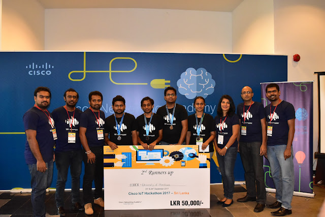 2nd Runners up - University of Moratuwa - Team CODEX