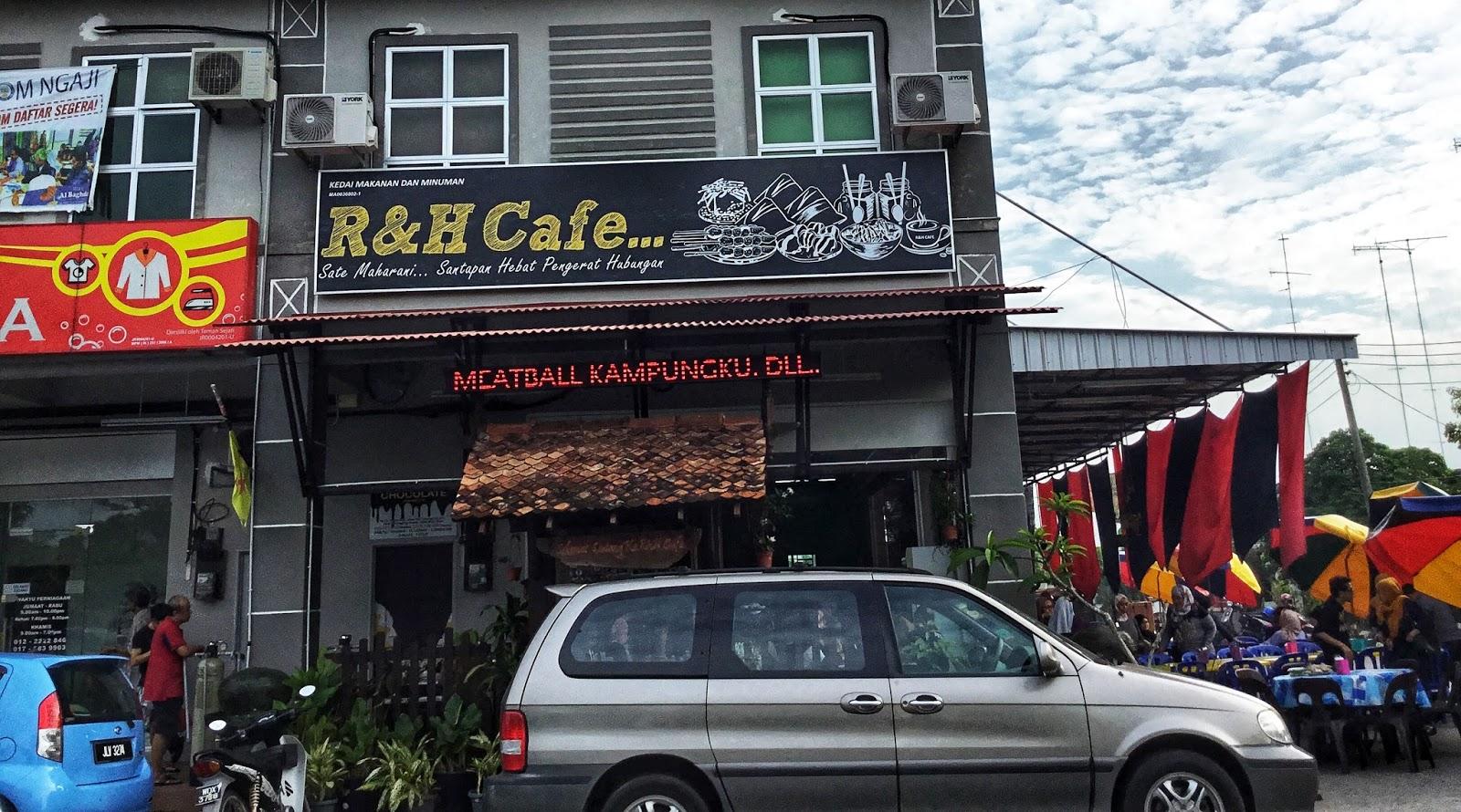 Rh Garden Cafe Menu