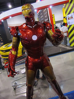 Iron Man Toy Expo 2012