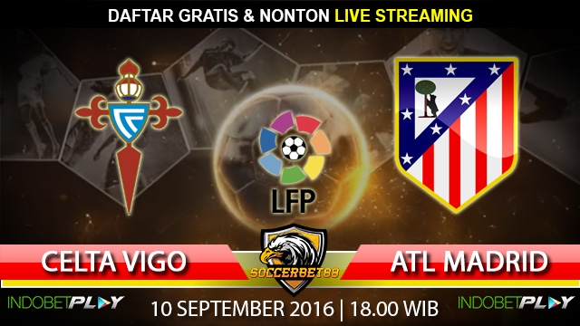 Prediksi Celta Vigo vs Atletico Madrid 10 September 2016 (Liga Spanyol)