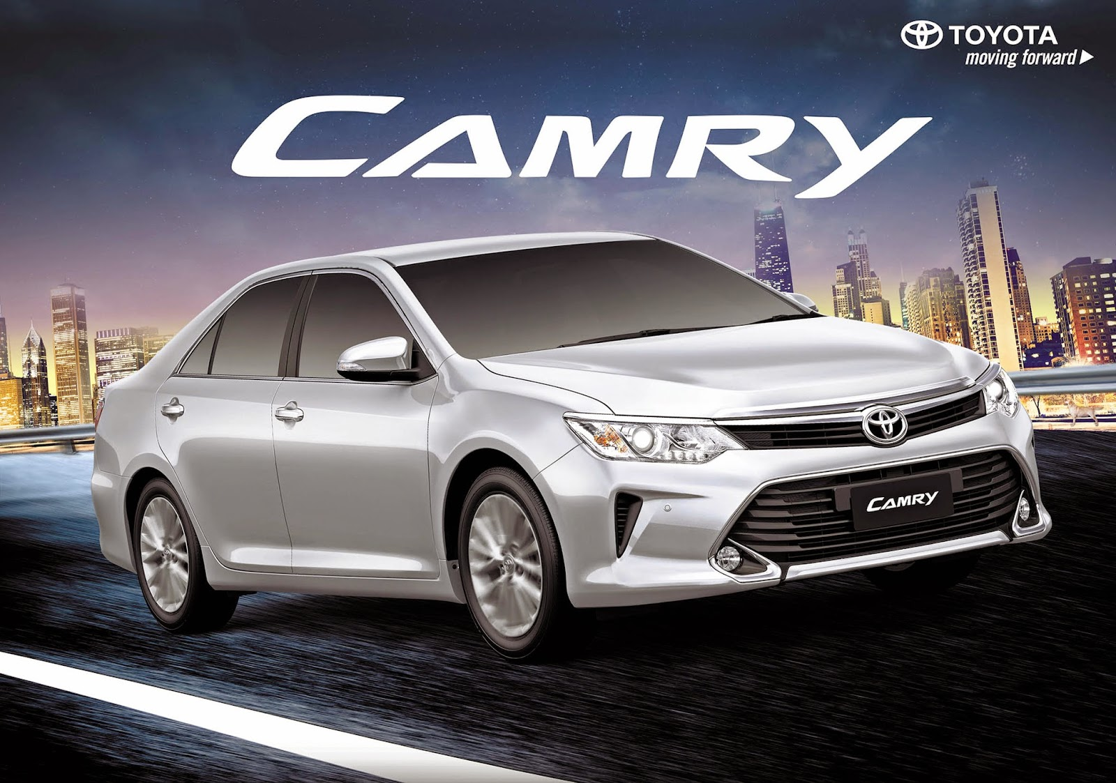 All New Toyota Camry Philippines Harga Agya Trd 2017 Motors Launches 2015 A Bolder Sportier Premium Luxury Sedan