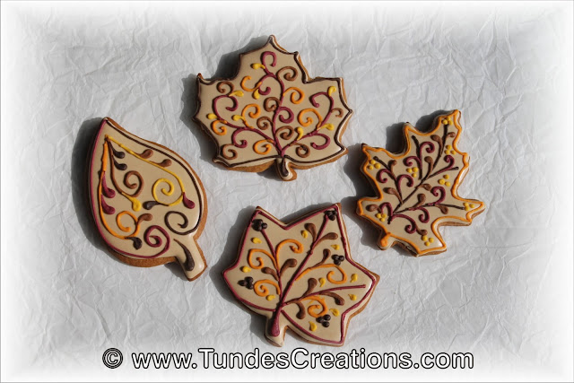 Fancy leaf cookies by Tunde Dugantsi